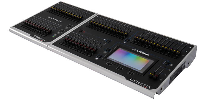 New lighting console from Altman designed for simplicity of control