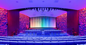IBM theatre upgraded with LED video wall