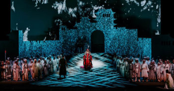 Ayrton Khamsin-S LED lighting fixtures provide drama and nuance for Turandot at the National Kaohsiung Center for the Arts (Weiwuying)