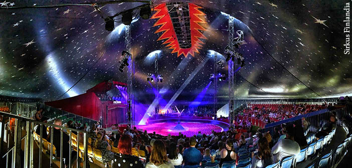 Finnish circus completes 108-date tour