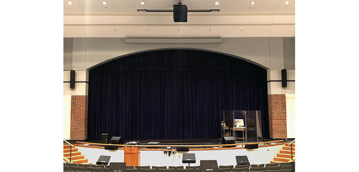 South Windsor High School's newly updated theatre