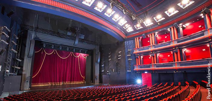 The main venue at Teatr Muzyczny Roma in Warsaw, Poland