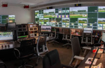 The control room on the University of Miami campus