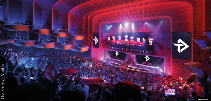 Esports events will feature among the programming at the venue