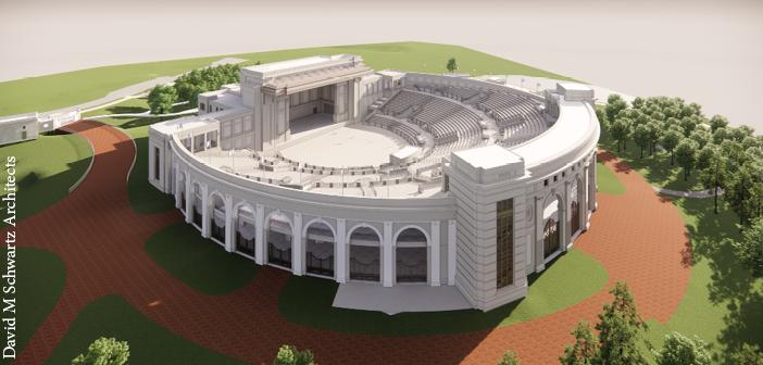 The Huntsville Amphitheater, opening in Spring 2022