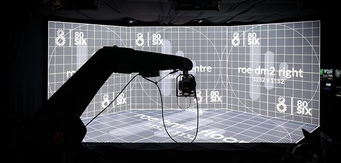80six uses LED walls for virtual production studios