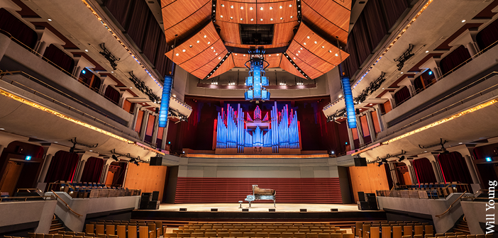 VIDEO: Sound system update for Calgary concert hall