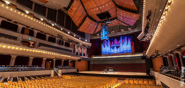 The Jack Singer Concert Hall has capacity for 2,000 people