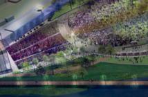 The Riverfront Park Amphitheater in Wilmington, North Carolina