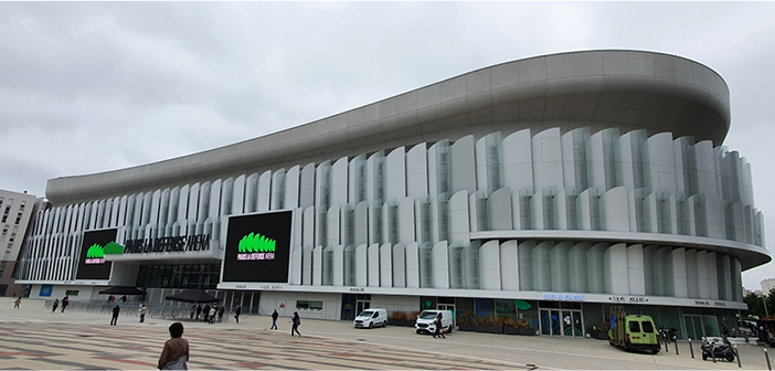 Paris La Défense Arena hosts events including concerts and rugby matches