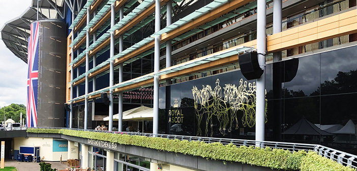 Throughout Ascot, Bose Professional loudspeakers are integrated to provide focused, clear audio to ensure a great raceday experience