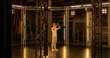 Christopher Harrison in Nicholas Shoesmith's Odyssey. Image: Andrew Ross