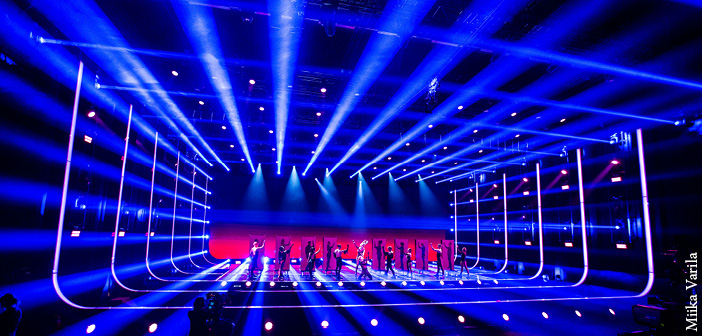 MDG's theOne and ATMe generators provided a canvas for Pekka Martti's UMK21 lighting design, which showcased each of the 2021 contestants with a unique look