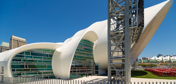 The Rady Shell at Jacobs Park opened on 6 August 2021