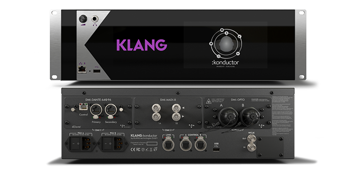 In-ear mixing processor unveiled by Klang
