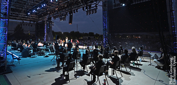 L-ISA helps create operatic sound outdoors