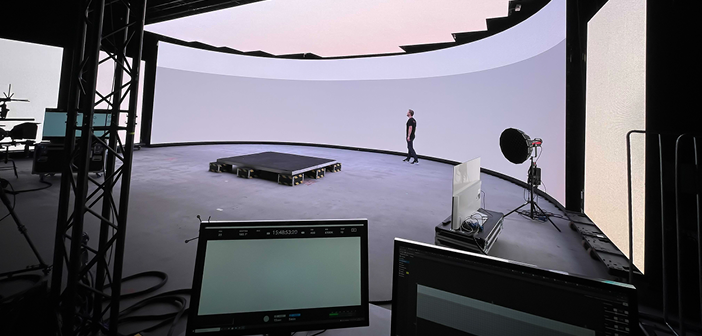 ICVFX studio built in Finland